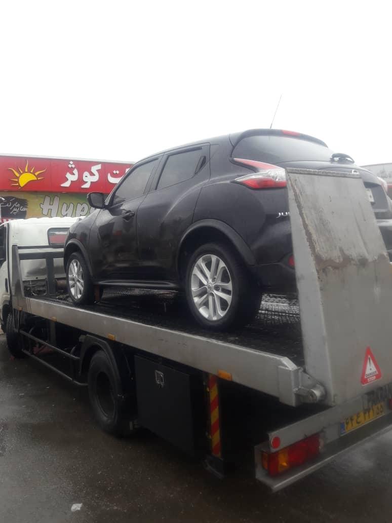 حمل خودرو از تهران به شیراز